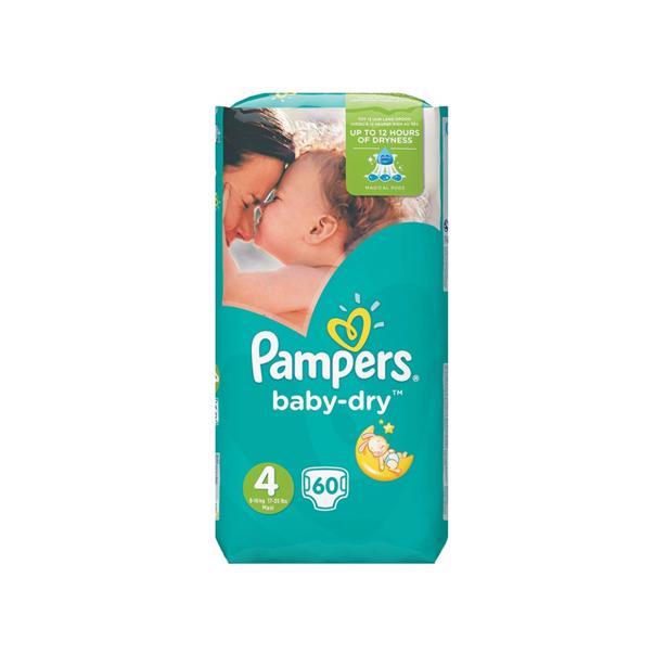 Pampers Baby Dry 4 in voordeelverpakking!