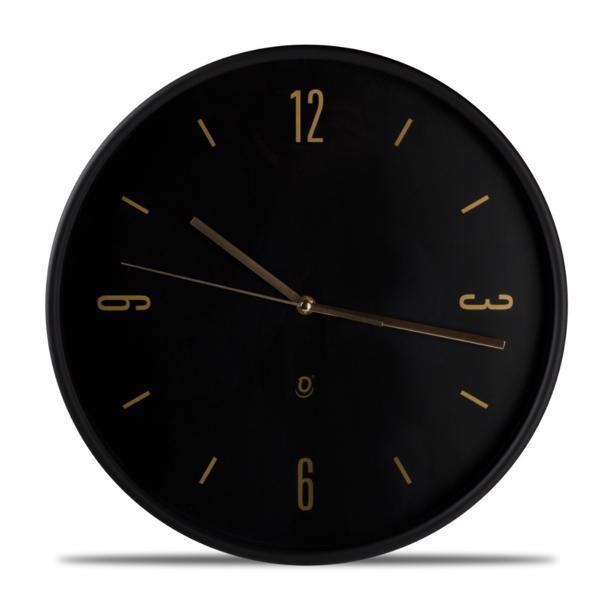 Yong - Wandklok O'Time 38 cm Zwart