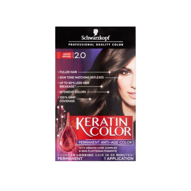 Schwarzkopf Keratine Color 2.0 - Bruinzwart
