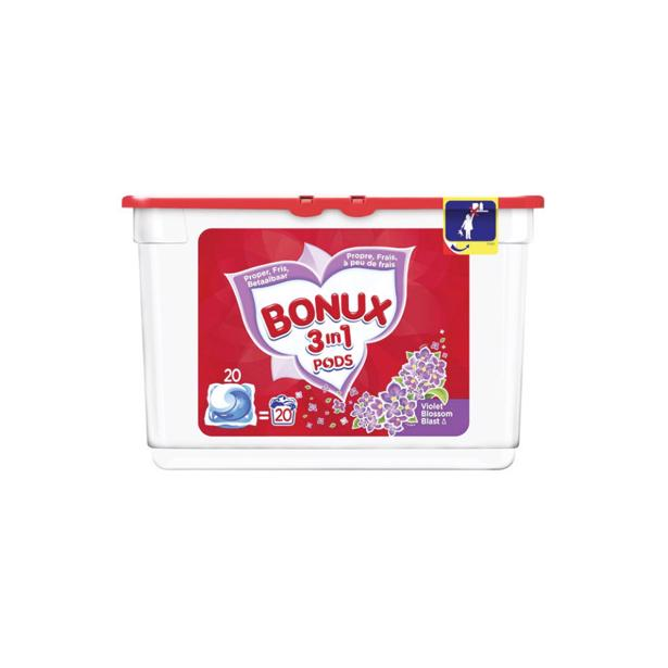 Bonux 3 in1 pods Violet Bloesem