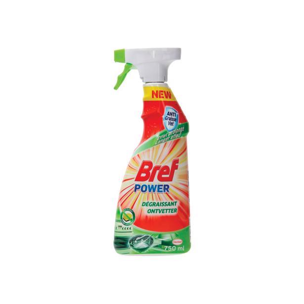 Bref Power ontvetter voordeelverpakking 8 x 750 ml