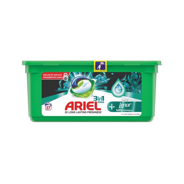 Ariel 3 in1 Pods Unstoppables Touch Of Lenor