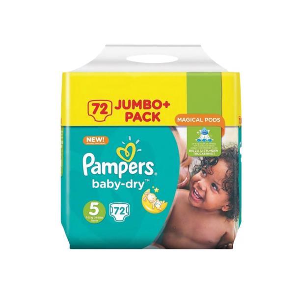 Pampers Baby Dry 5 in voordeelverpakking!
