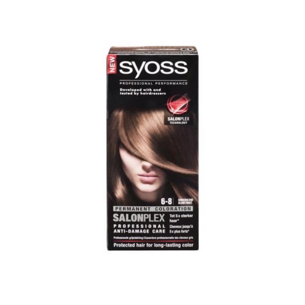 Syoss Donkerblond Professional Performance 6-8 voordeelverpakking