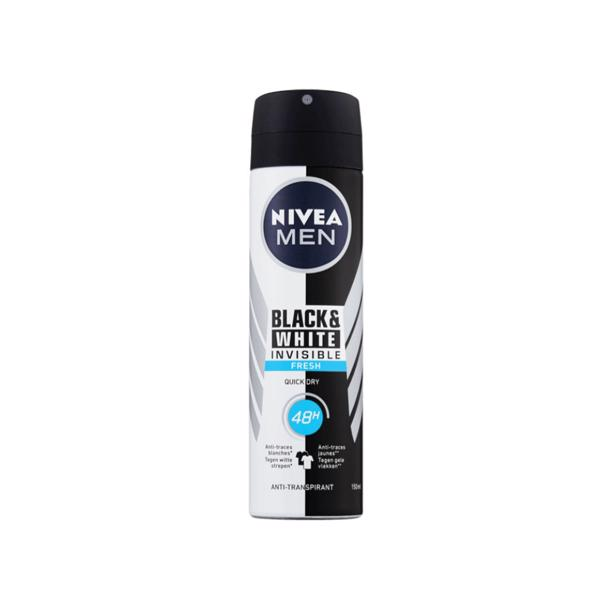 Nivea Men Deodorant Invisible Black & White Fresh