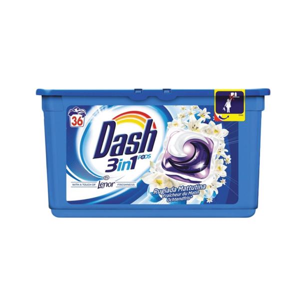 Dash 3 in 1 Pods Lenor Ochtendfris