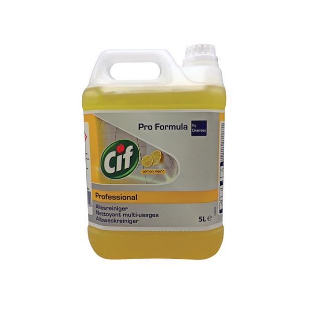 Cif - Professional Allesreiniger Lemon Fresh 5 Liter