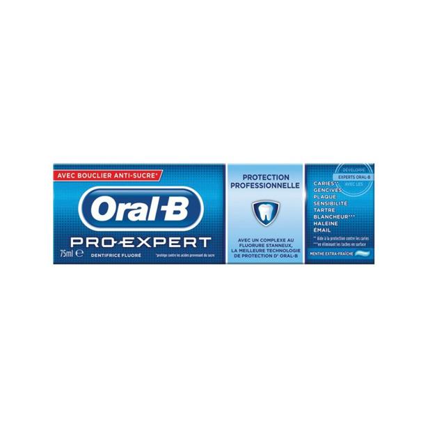 Oral-B Tandpasta Pro-Expert met Anti-suiker Schild