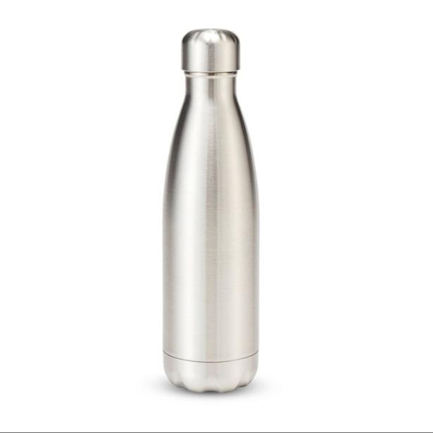 Salt & Pepper - Isoleerfles 50cl zilver Hydra