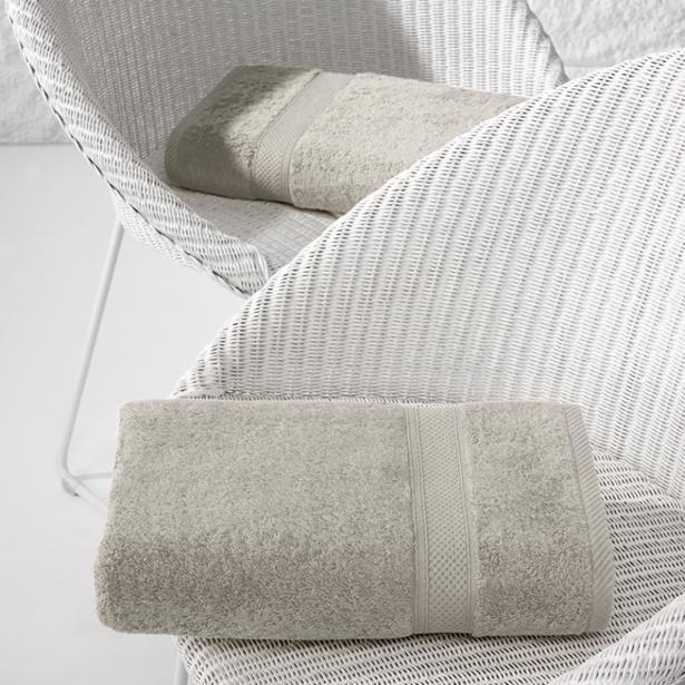 De Witte Lietaer - Douchelaken Stephanie Dove 70x140cm (Set van 2 stuks)