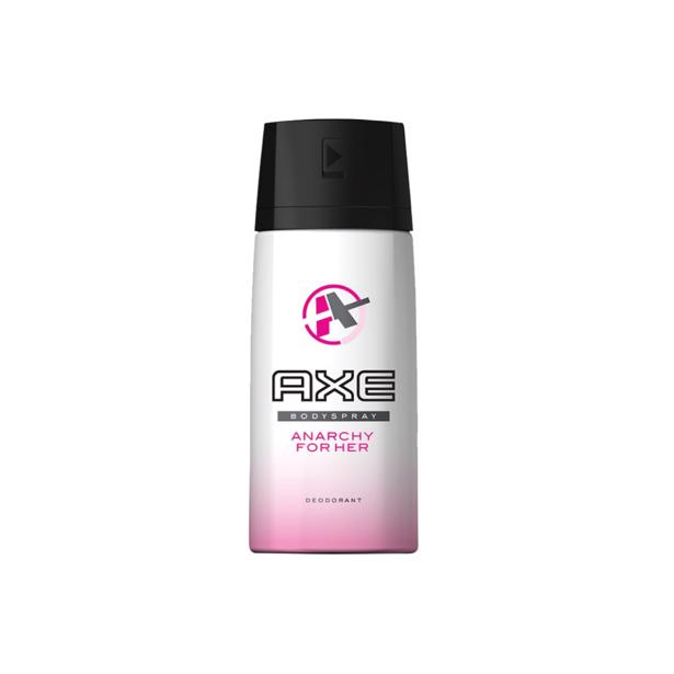 Axe deodorant Anarchy For Her 150 ml in voordeelverpakking