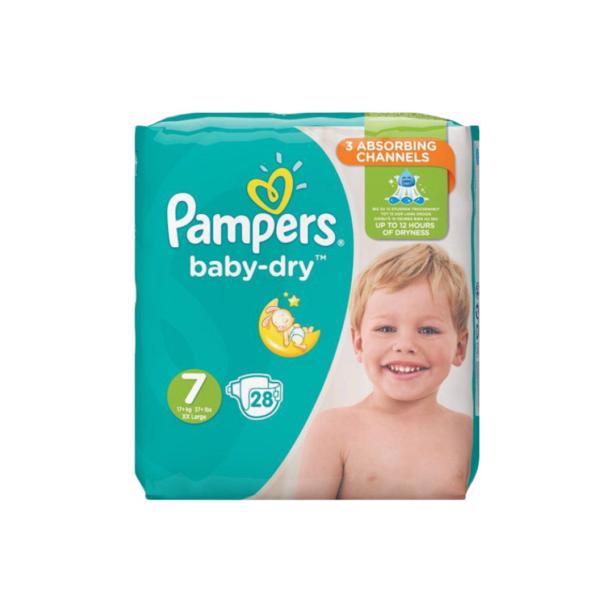 Pampers Baby Dry 7 in voordeelverpakking!
