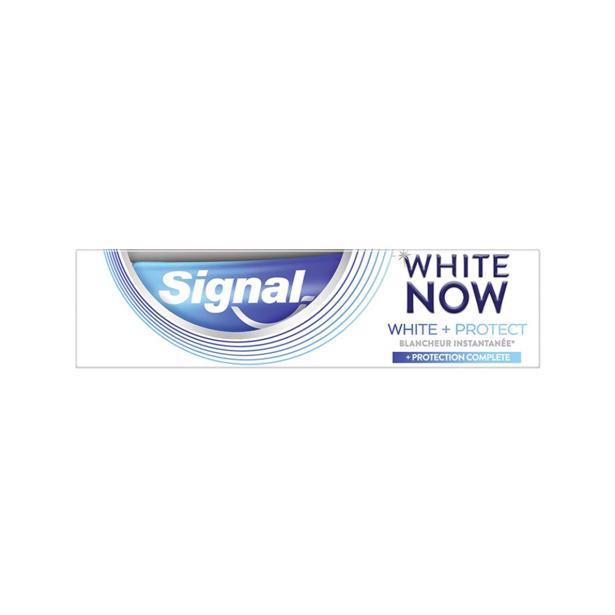 Signal Tandpasta White now - White & Protect