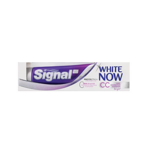 Signal Tandpasta White now Care Correction Bright