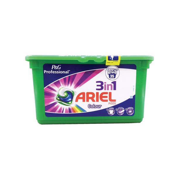 Ariel 3 in1 Pods Professional Color