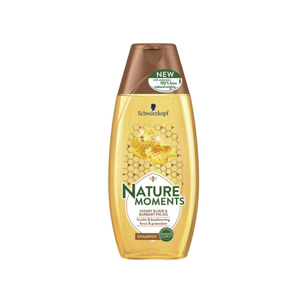 Schwarzkopf Nature Moments Honey Elixir & Barbary Fig Oil Shampoo