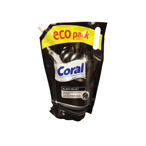 Coral Black Velvet Ecopack