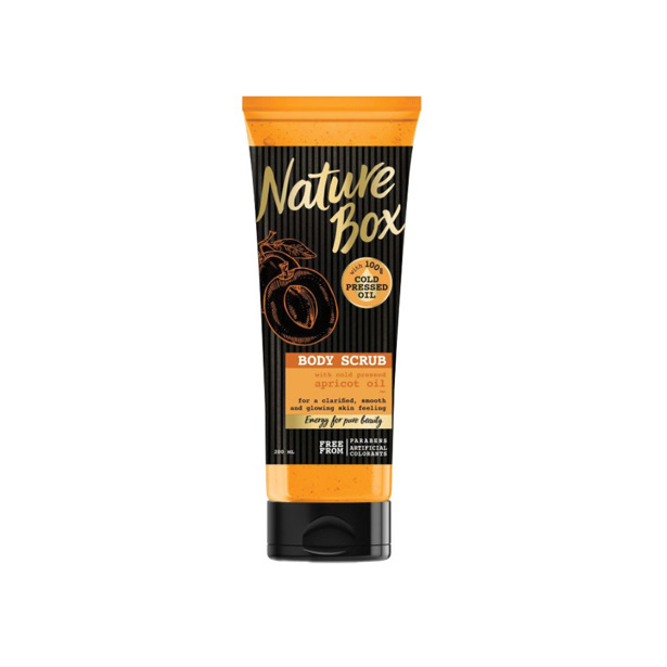 Nature Box Body Scrub Apricot Oil