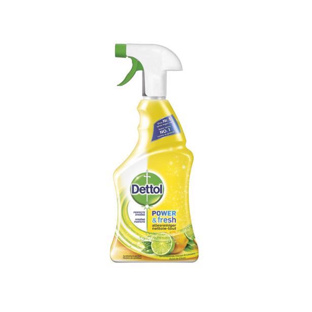 Dettol - Spray Power&Fresh Citroen 750 ml