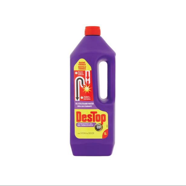 Destop - Ontstopper Gel 30 minuten met Soda