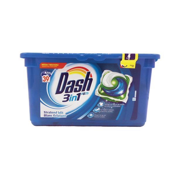 Dash 3 in 1 Pods Stralend Wit