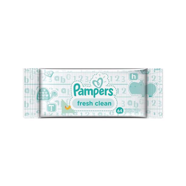 Pampers Babydoekjes Fresh Clean 576 doekjes