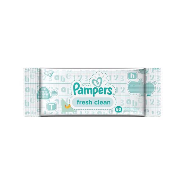 Pampers Babydoekjes Fresh Clean 640 doekjes