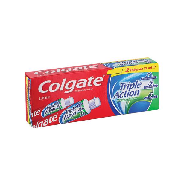 Colgate - Triple Action Originele Munt