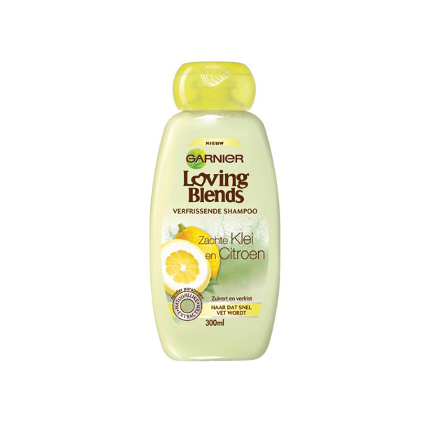 Garnier Loving Blends Shampoo Klei & Citroen