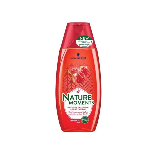Schwarzkopf Nature Moments Irresistible Raspberry & Sunflower Oil Shampoo