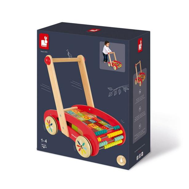 Janod ABC Buggy Tatoo Wagen
