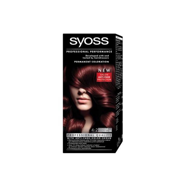 Syoss Mahonie Professional Performance 4-2 voordeelverpakking