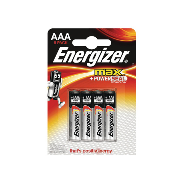Energizer AAA Max+ Powerseal Technology 8-Pack