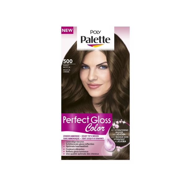 Schwarzkopf Poly Palette Perfect Gloss Color 500 - Sweet Mocca