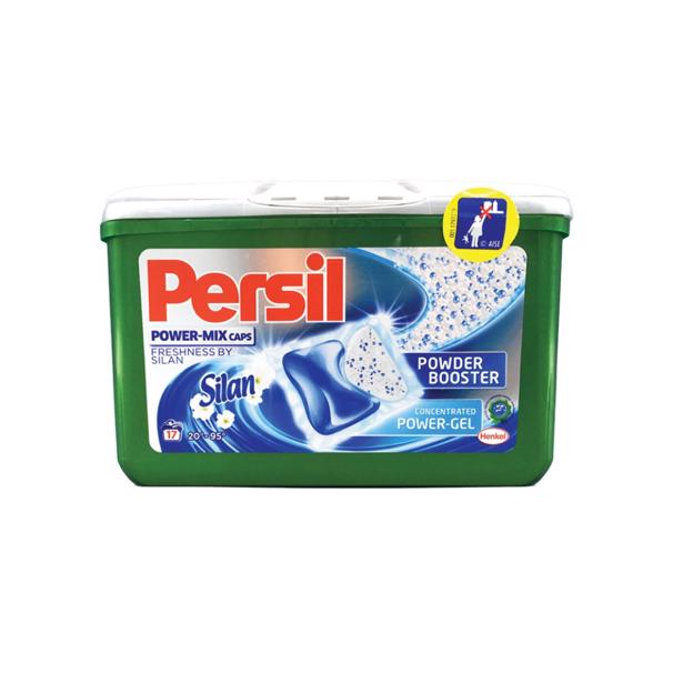 Persil Power Mix caps met Silan