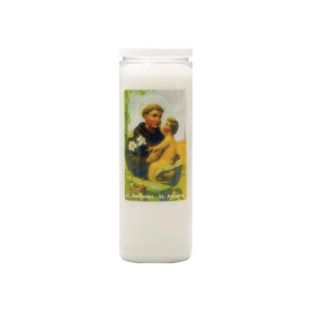Spaas noveenkaarsen Heilige Antonius voordeelverpakking 20 kaarsen