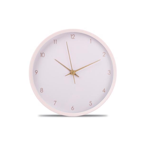 Yong - Wandklok O'Time 26 cm Pink