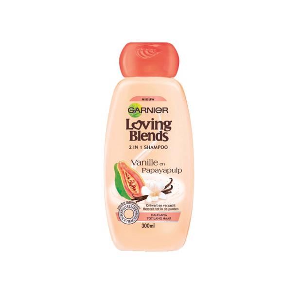 Garnier Loving Blends 2in1 Shampoo Vanille & Papayapulp