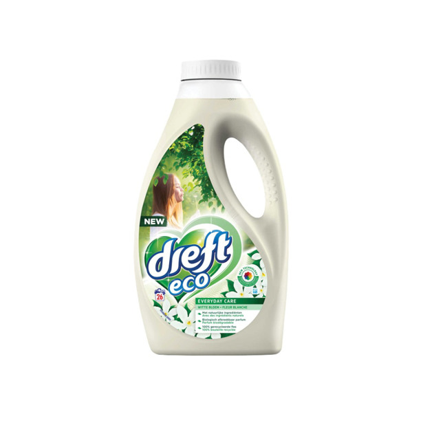 Dreft Eco Everyday Care Witte Bloe