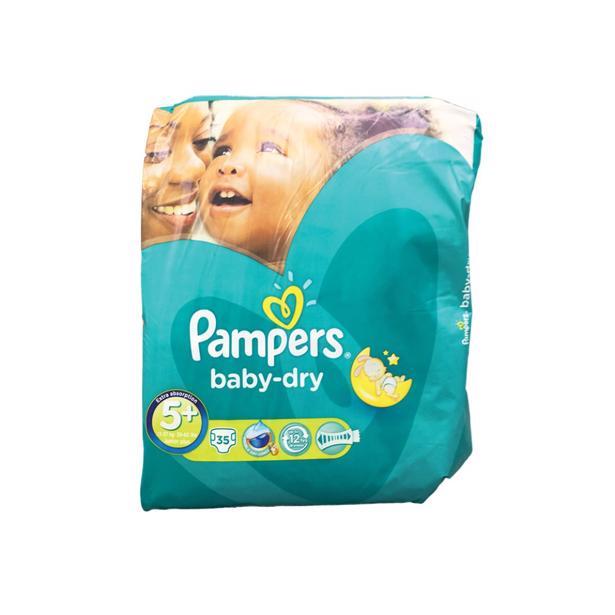Pampers Baby Dry 5+ in voordeelverpakking!
