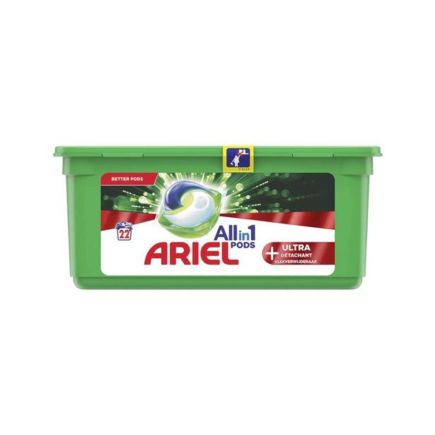 Ariel 3 in 1 Pods +Ultra Vlekverwijderaar