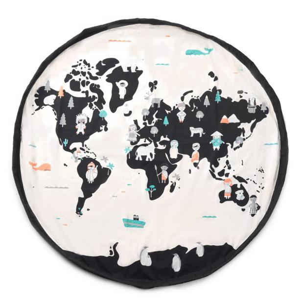 Play&Go - Worldmap Toy Storage Bag