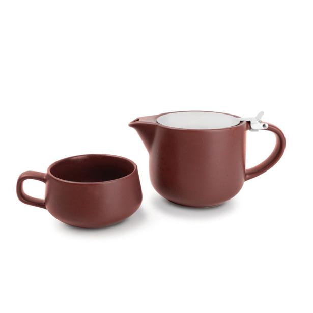 Salt & Pepper Tea for one set 60cl bruin Anders