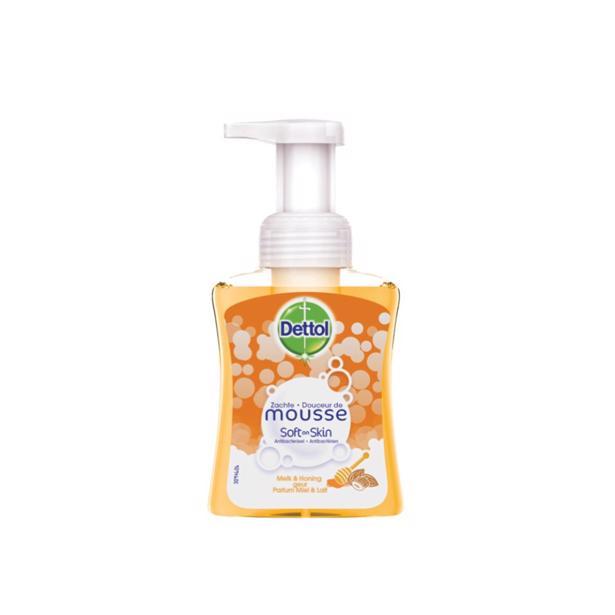Dettol Mousse Melk en Honing Handzeep