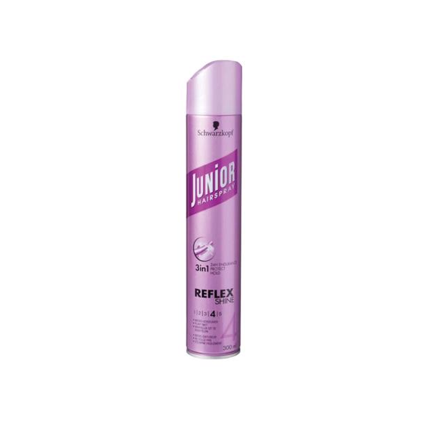 Junior haarspray Reflex Shine voordeelverpakking 6 x 300 ml