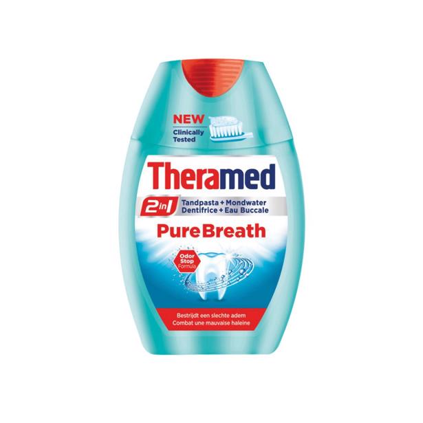 Theramed Pure Breath in voordeelverpakking!