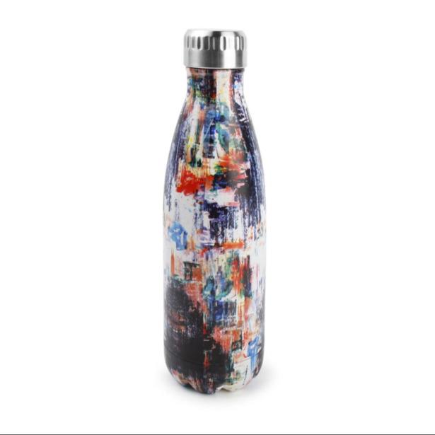 Salt & Pepper Isoleerfles 75cl artwork Hydra