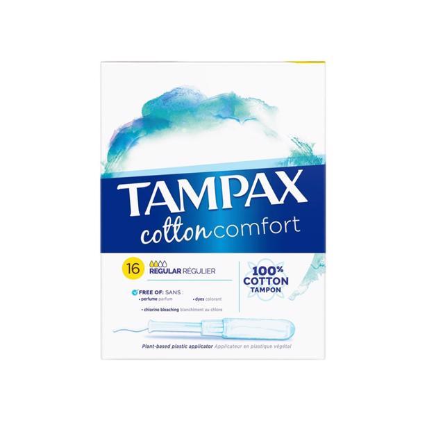 Tampax - Cotton Comfort Regular