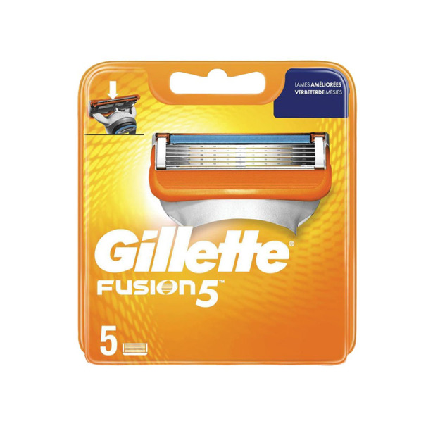 Gillette Fusion 5 Scheermesjes 5 navullingen