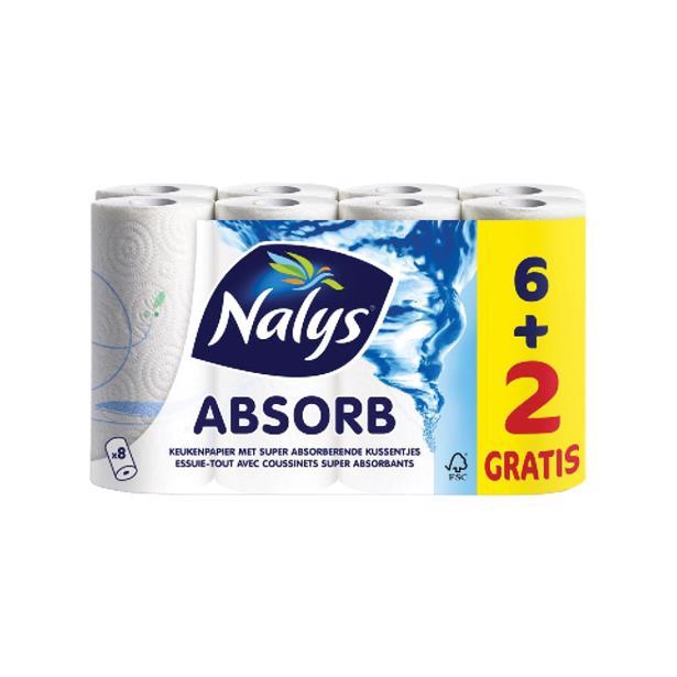 Nalys Absorb Keukenpapier 2-laags